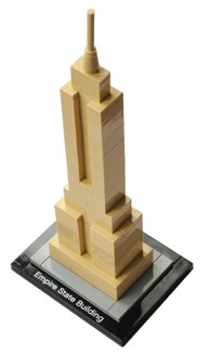 Empire State Building Lego Model